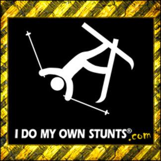 Snow Skiing Stunts