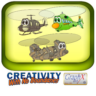Helicopter Cartoons