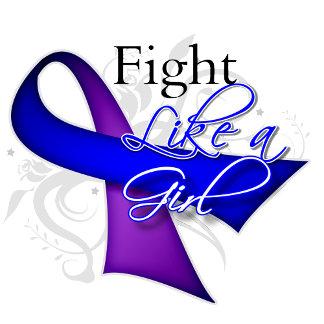 Ribbon - Fight Like a Girl - Childhood Stroke