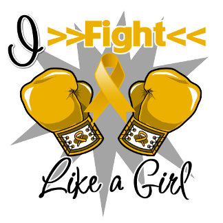 Appendix Cancer I Fight Like a Girl With Gloves