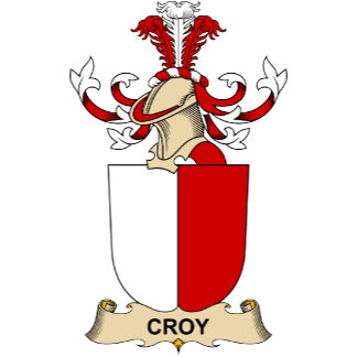 Croy Family Crests