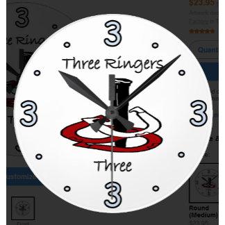 HorseShoe Pitching Wall Clocks