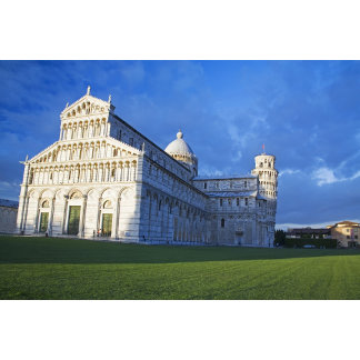 Italy, Pisa, Duomo and Leaning Tower, Pisa,