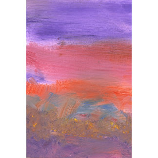 Abstract - Guash - Lovely meadows 2 of 2