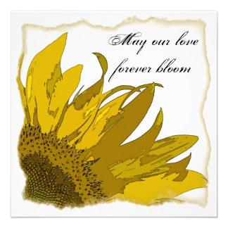 Sunflower Corner Wedding