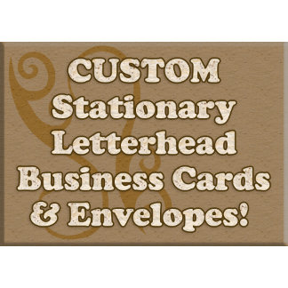 Business Cards, Stationary and Envelopes