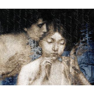 """Chloe and Daphnis Vintage Art Poster Print"""