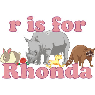 R is for Rhonda