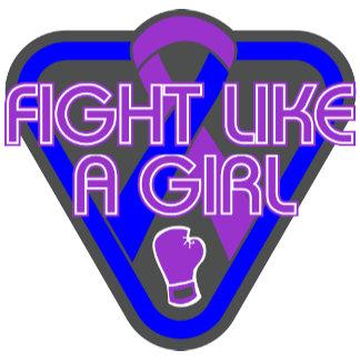 Pediatric Stroke Fight Like A Girl Glove