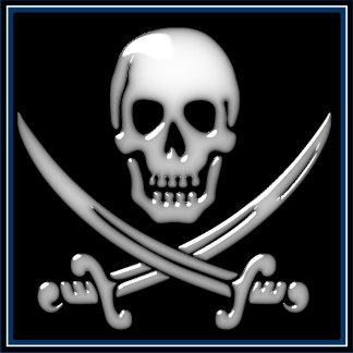 Jolly Roger - Glassy Skull