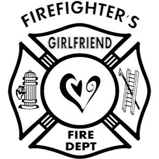 Firefighter's Girlfriend Fire Dept Logo