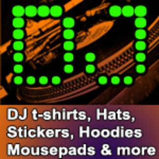 DJ t shirts | Dee Jay t shirts | D-Jay t shirts