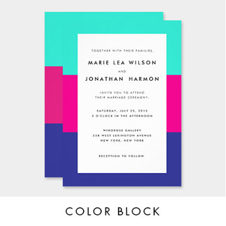 Color Block Collection
