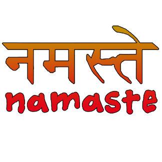 Namaste in Rising Sun Colors