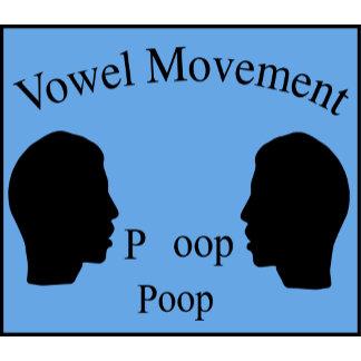 Vowel Movement - Blue