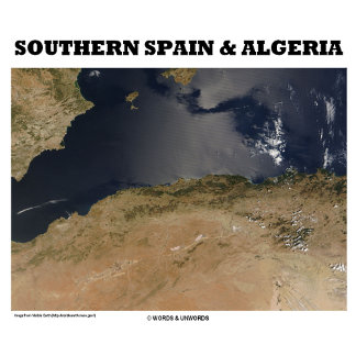 Southern Spain & Algeria (Picture Earth)