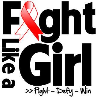 Myelodysplastic Syndromes Ribbon Fight Like a Girl