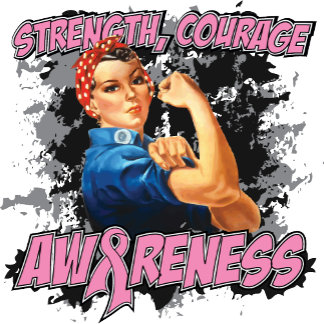 Breast Cancer Strength Courage