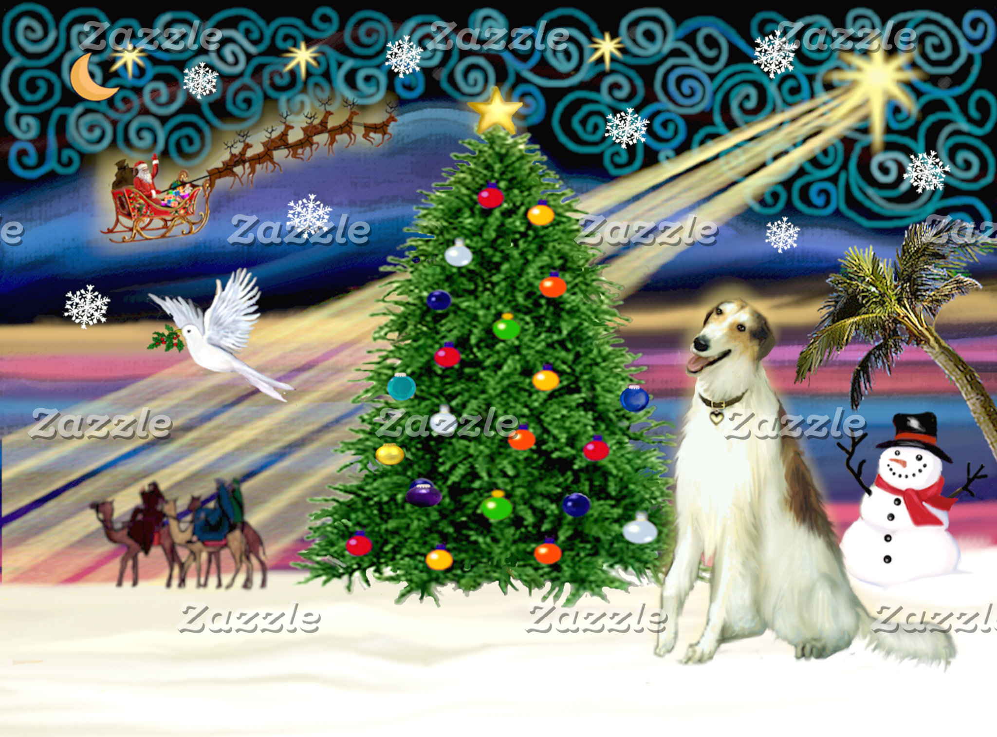 "DOGS - IN ""CHRISTMAS MAGIC"""