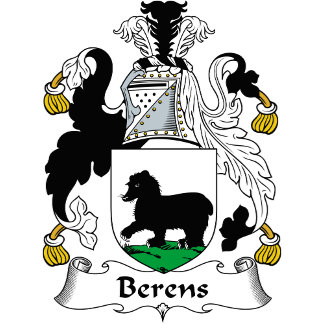 Berens Family Crest / Coat of Arms