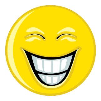 Smiley Face - Peace Sign - Sunburst