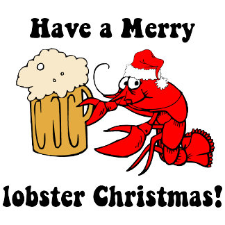 Have a Merry lobster Christmas!