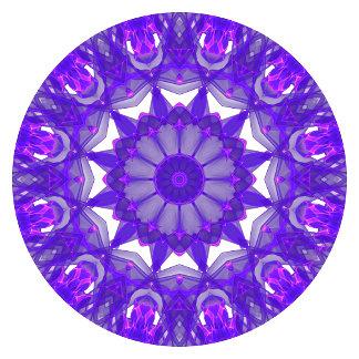 Purple Wheel of Fire Mandala