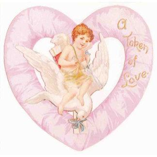 cherub heart pink