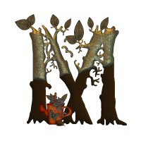 Autumn Tree Monogram