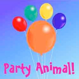 Party Animal_paw-shaped balloon bouquet