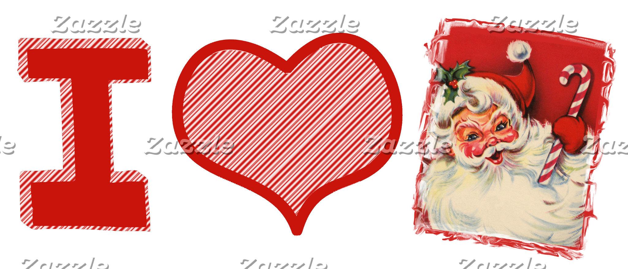 I love (heart) Santa