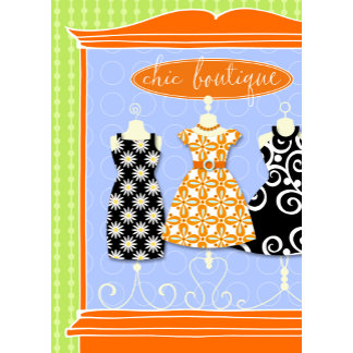 """""""Chic boutique Poster Print"""""""