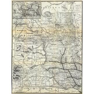 Correct map of Dakota