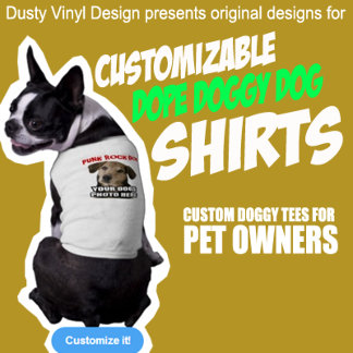 PET DOG t-shirts by DVD
