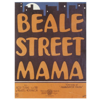 Beale Street Mama - Vintage Song Music Art