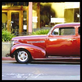 Classic Red Car 5