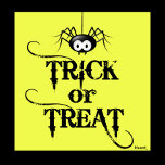 Trick or Treat Yellow With Spider.png