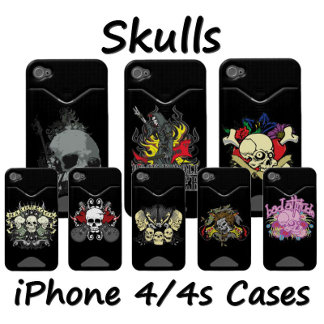 Skull iPhone 4 Cases and Covers
