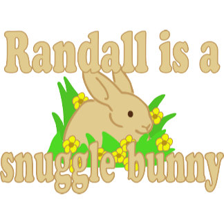 Randall is a Snuggle Bunny