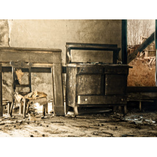 Abandoned Antique Furniture