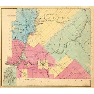 Harmony, Hickory, Kingsley, Tionesta townships