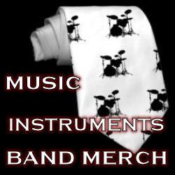 Music : Instruments : Band Merch