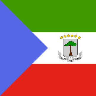 Equatorial Guinea High quality Flag
