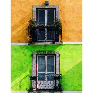 Vintage Apartment Balconies