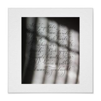Quotes InCalligraphy Prints