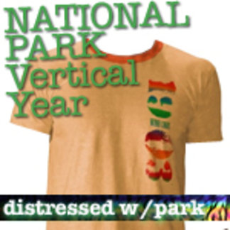 Vertical Year National Park T-Shirts