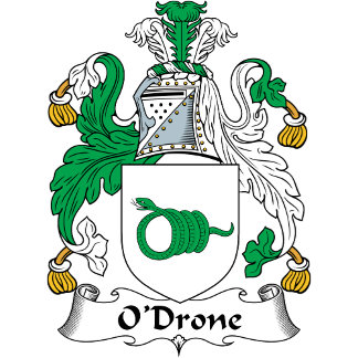 O'Drone Coat of Arms