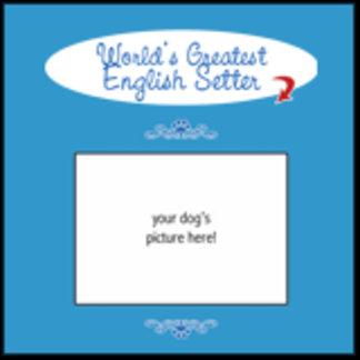 Personalized World's Greatest English Setter