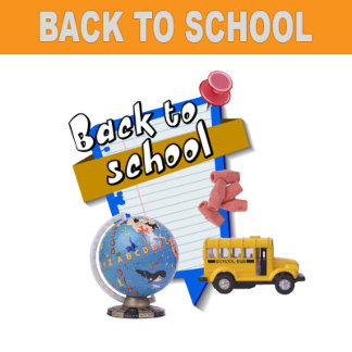 Back to School T-shirts and School Supplies