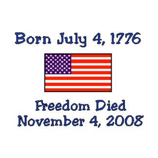Freedom Died USA